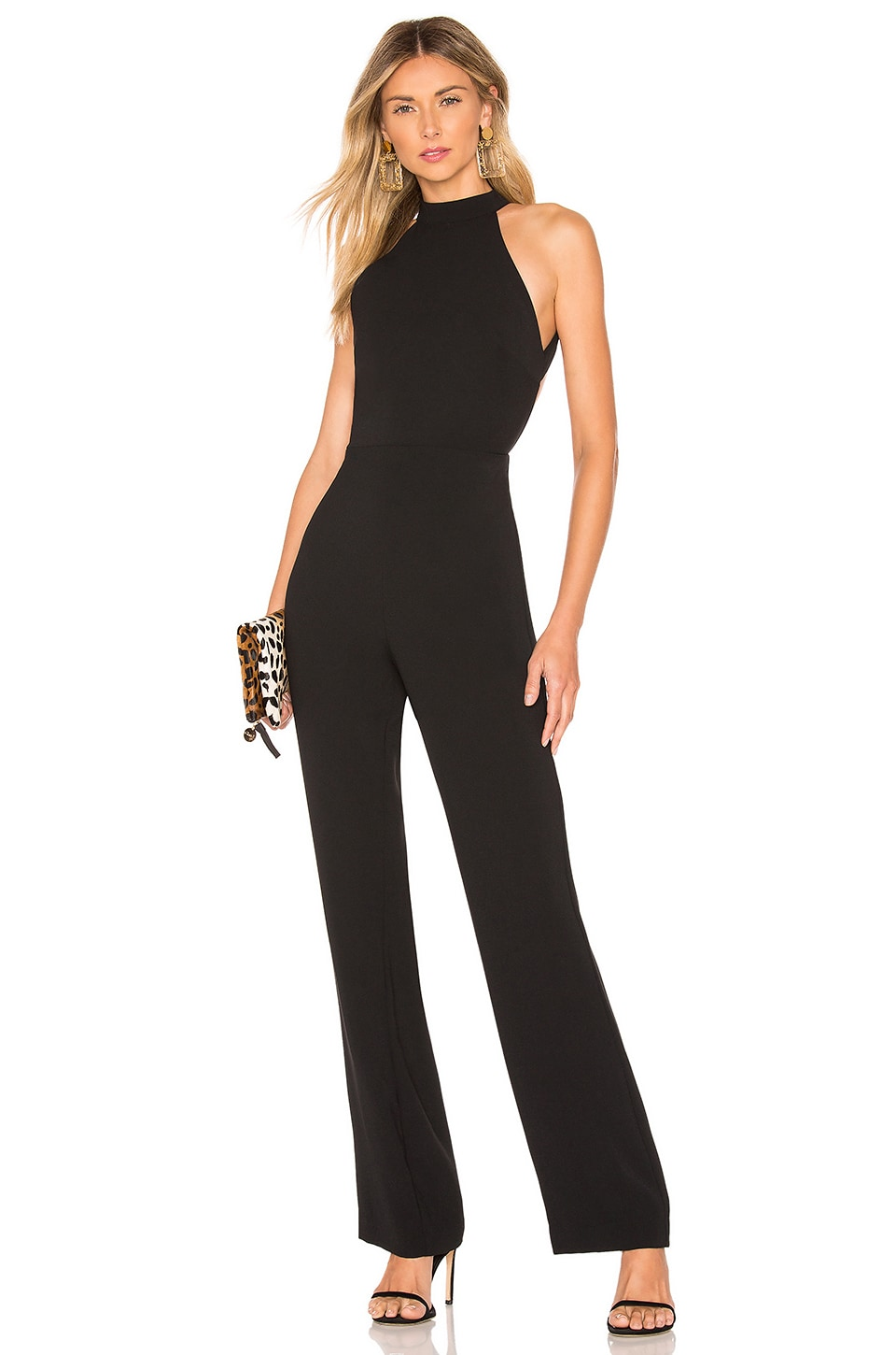 House of Harlow 1960 x REVOLVE Meant To Be Jumpsuit in Black