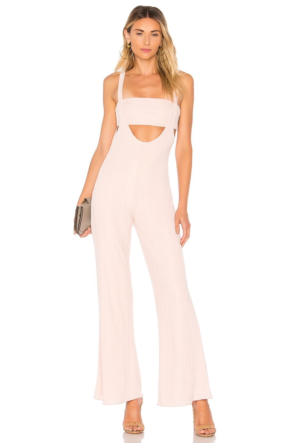 House of Harlow 1960 x REVOLVE Morin Jumpsuit in Rose Pink