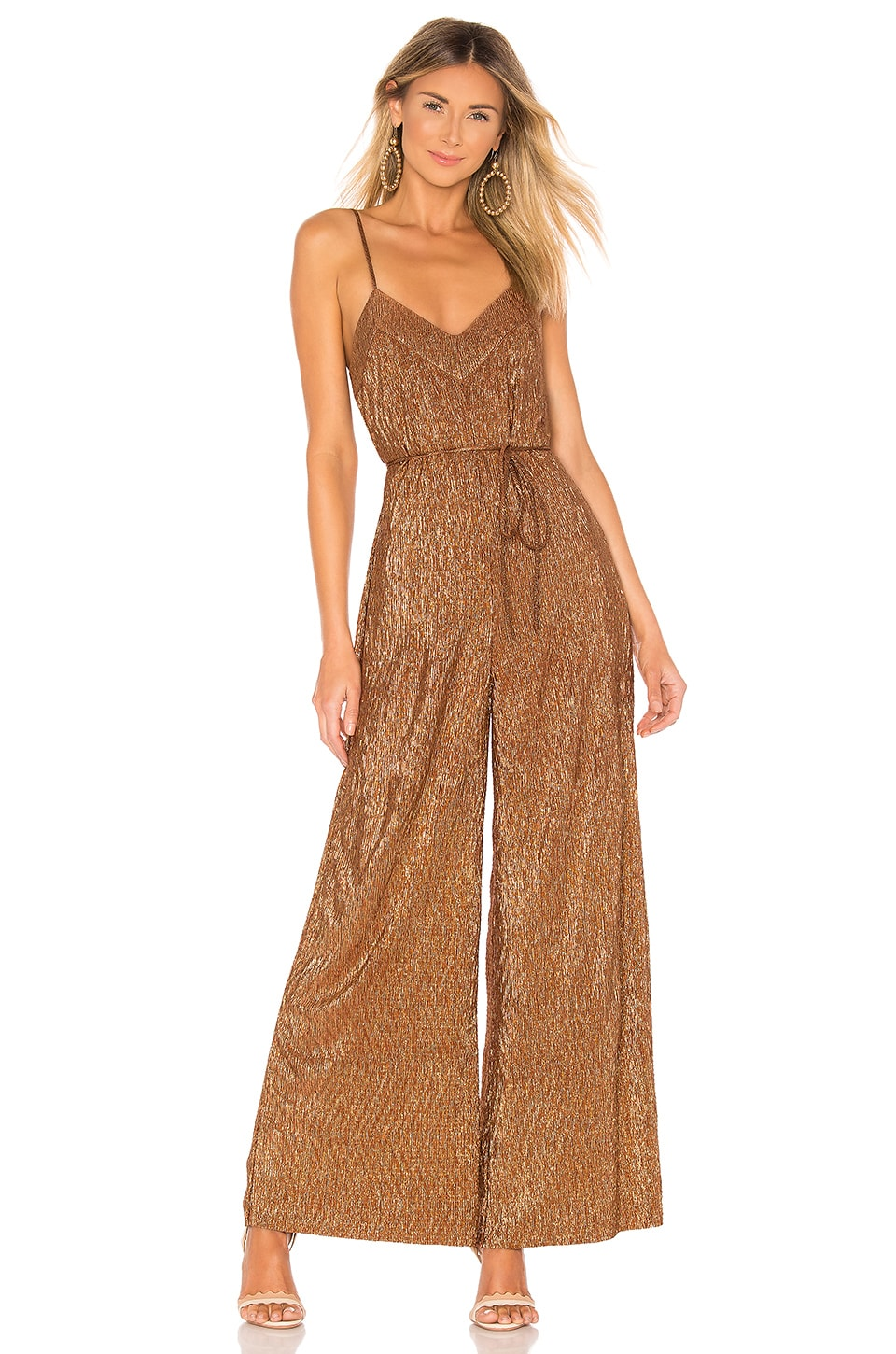 House of Harlow 1960 x REOLVE Karel Jumpsuit in Bronze