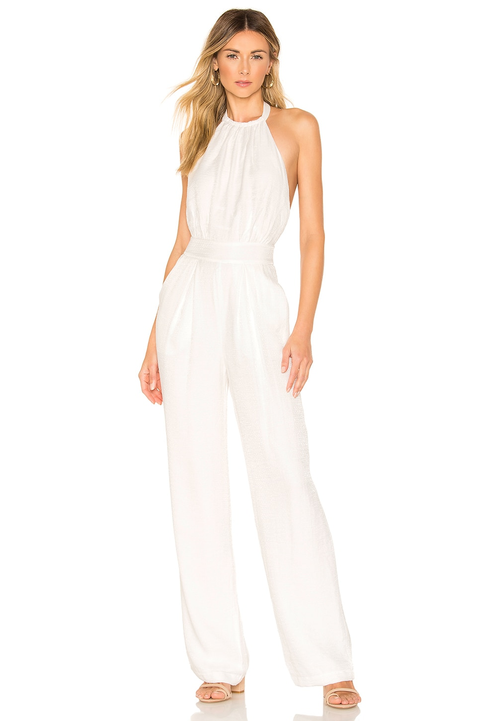 House of Harlow 1960 x REVOLVE Sefina Jumpsuit in White