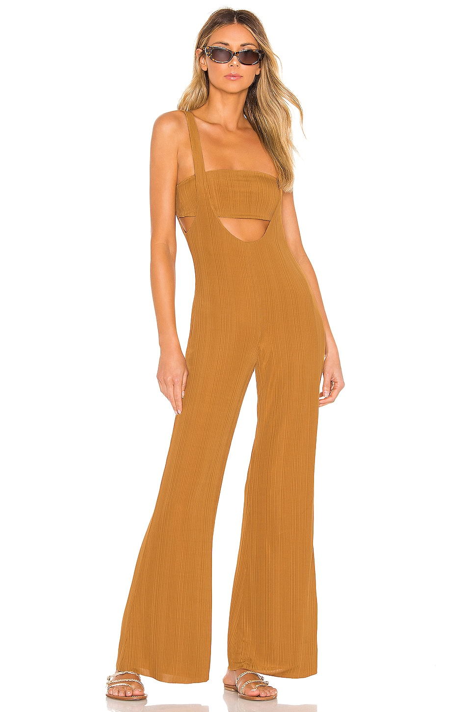 House of Harlow 1960 X REVOLVE Morin Jumpsuit in Toffee