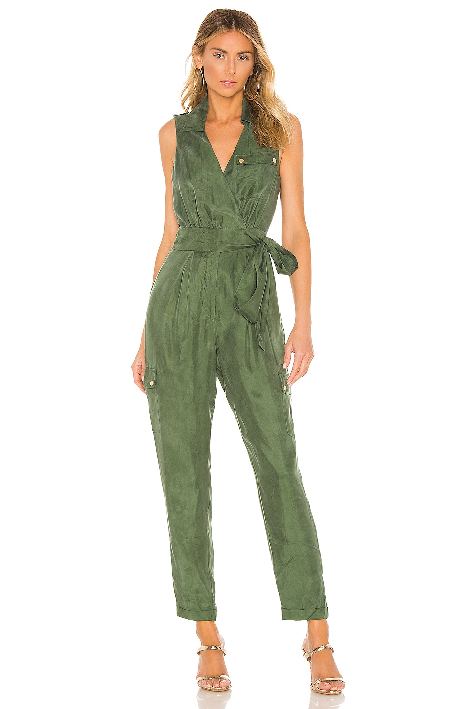 House of Harlow 1960 X REVOLVE Ro Jumpsuit in Green