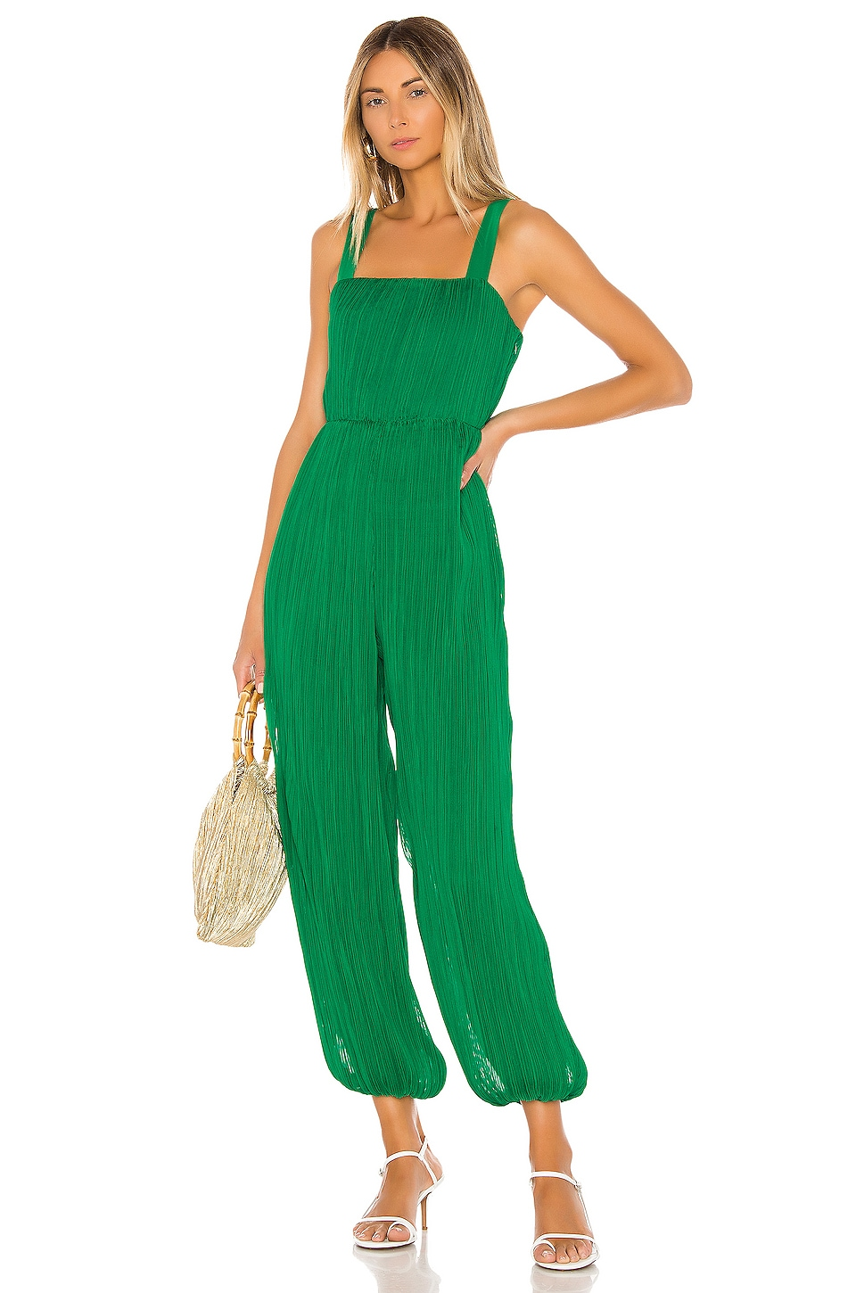 House of Harlow 1960 X REVOLVE Alandra Jumpsuit in Kelly Green