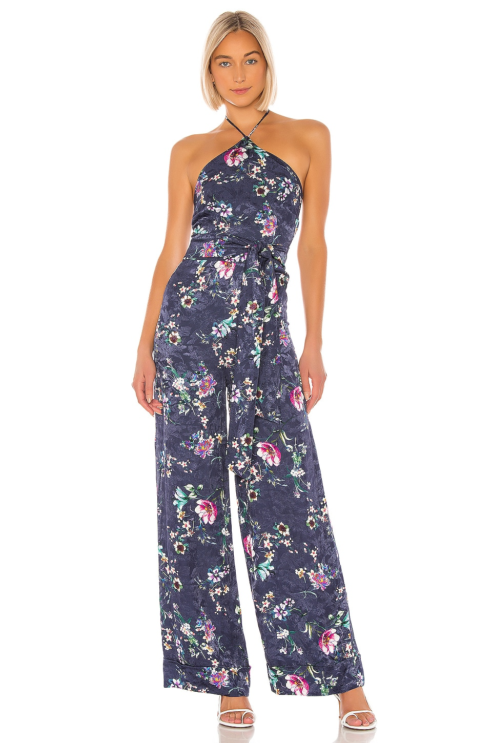 House of Harlow 1960 X REVOLVE Mclain Jumpsuit in Navy Floral Multi