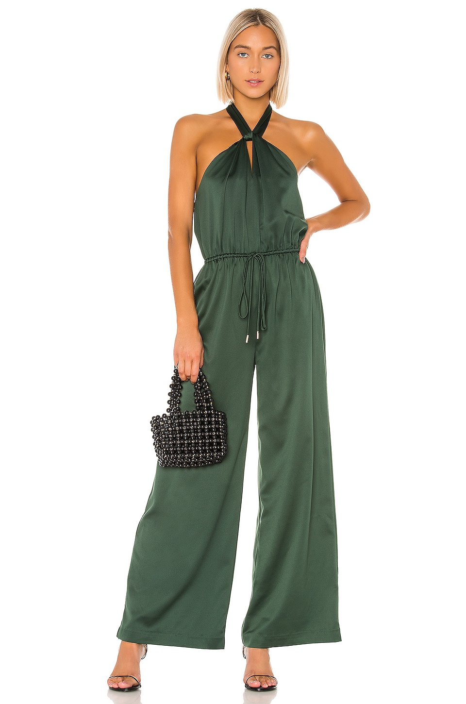 House of Harlow 1960 X REVOLVE Alana Jumpsuit in Emerald