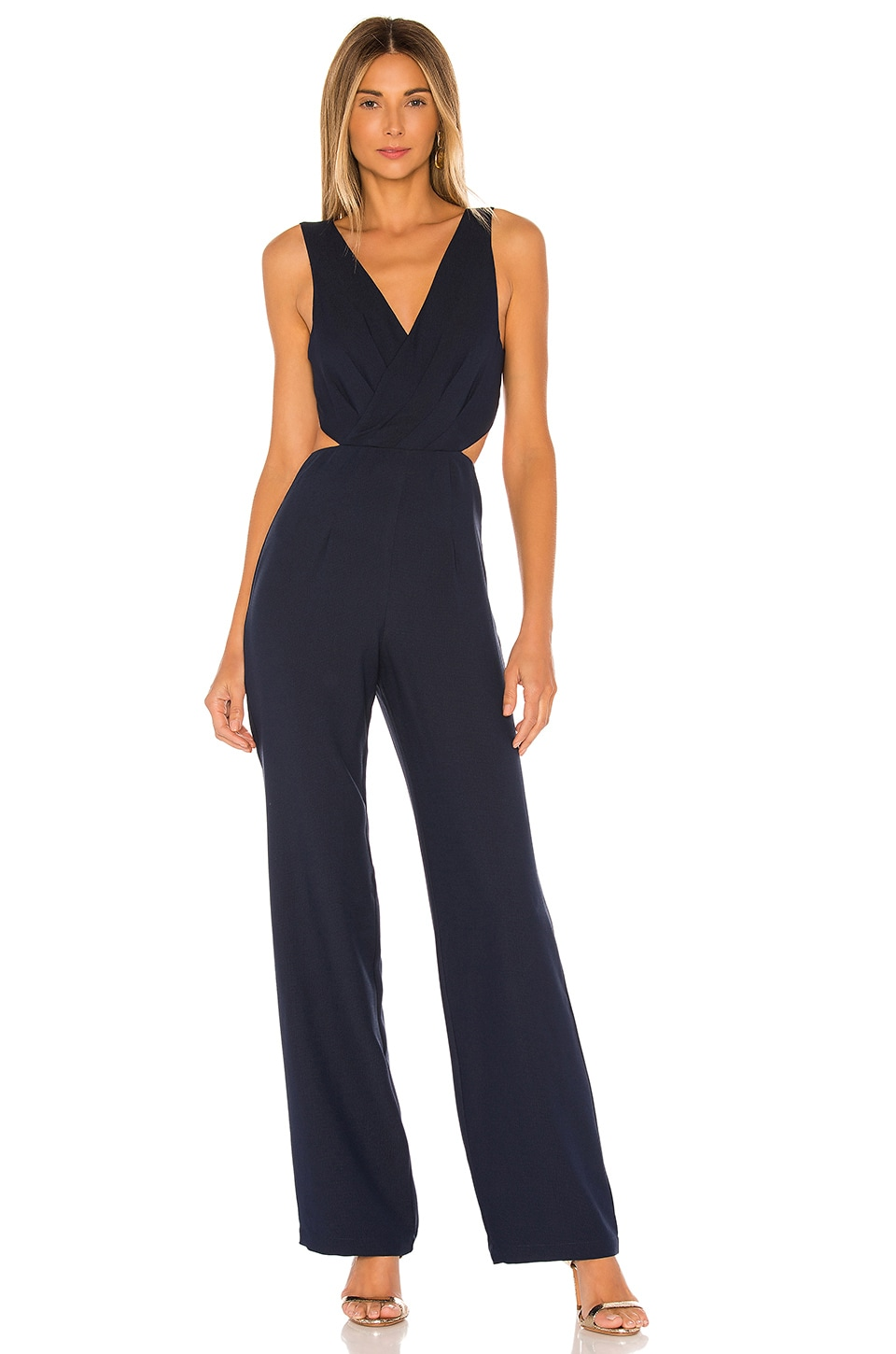 House of Harlow 1960 x REVOLVE Urma Jumpsuit in Navy