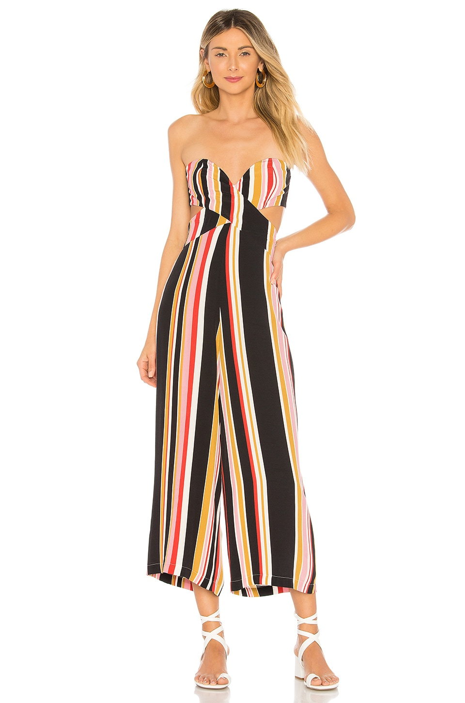 House of Harlow 1960 x REVOLVE Joelle Jumpsuit in Red Multi Stripe