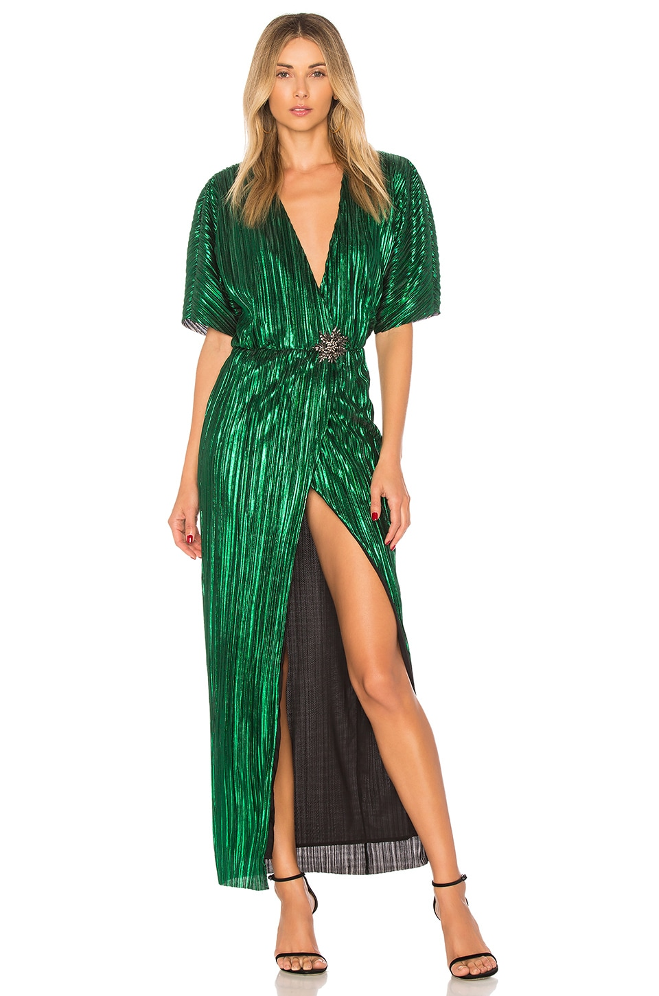 House of Harlow 1960 x REVOLVE Sabrina Dress in Emerald