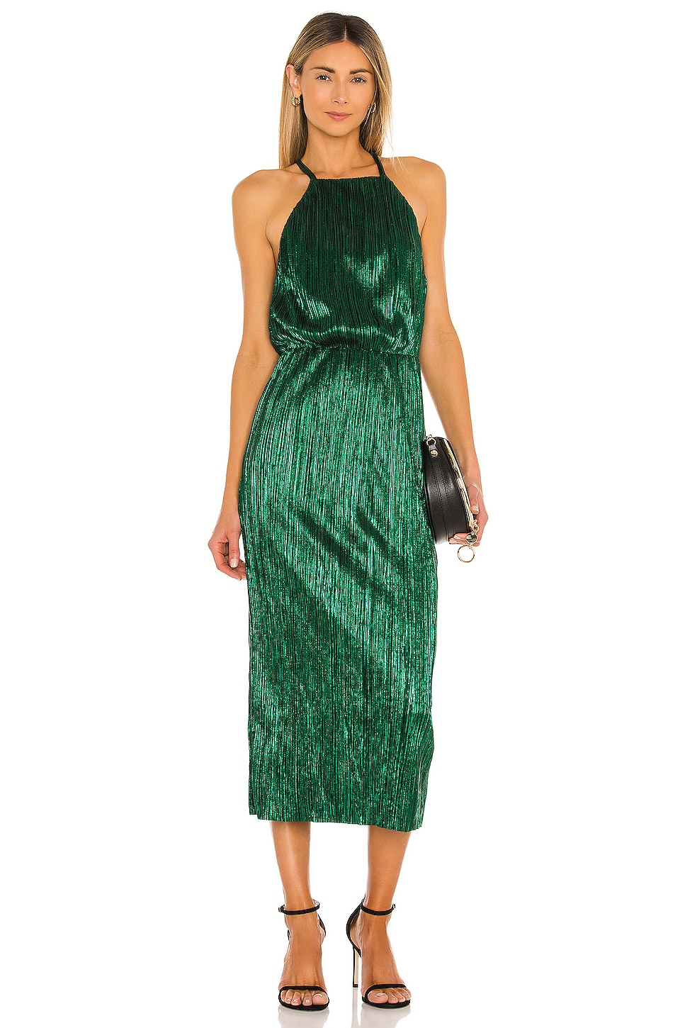 House of Harlow 1960 x REVOLVE Farrah Dress in Emerald