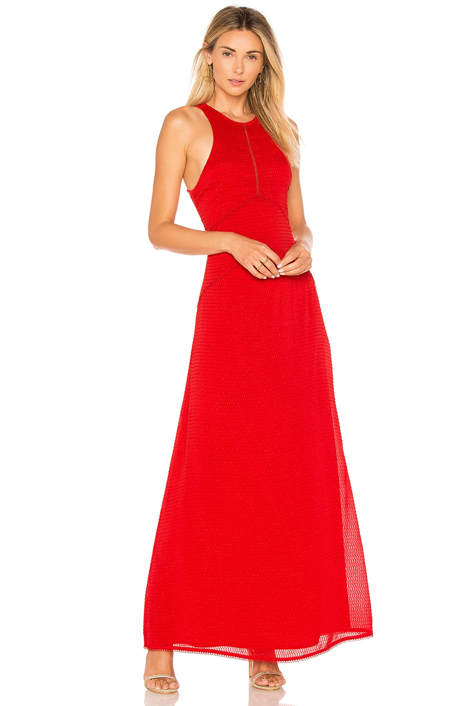 House of Harlow 1960 x REVOLVE Allegra Maxi in Racing Red
