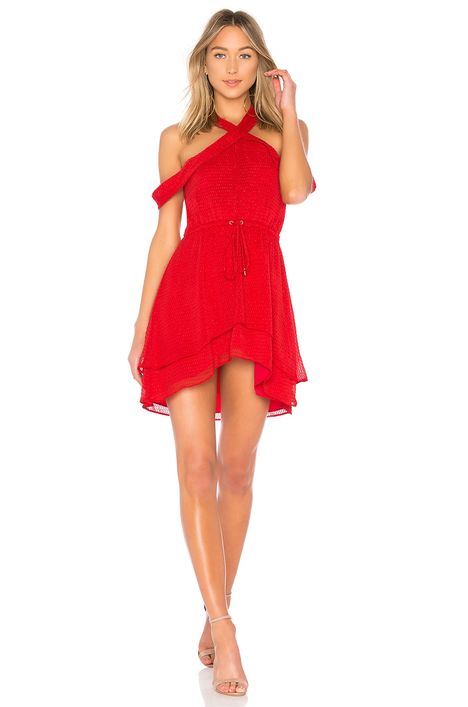 House of Harlow 1960 VESTIDO CINTURA ATADA EVERLY