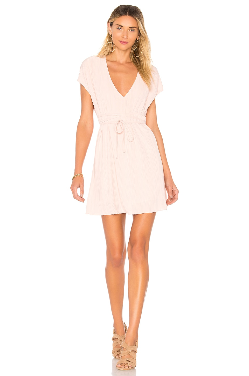 House of Harlow 1960 x REVOLVE Charlet Dress in Rose Pink
