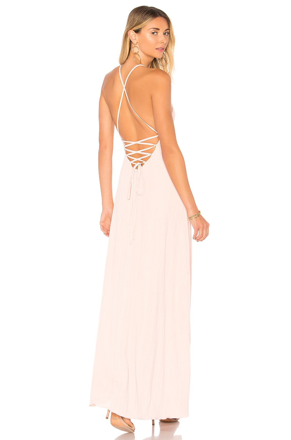 House of Harlow 1960 x REVOLVE Heidi Maxi in Rose Pink