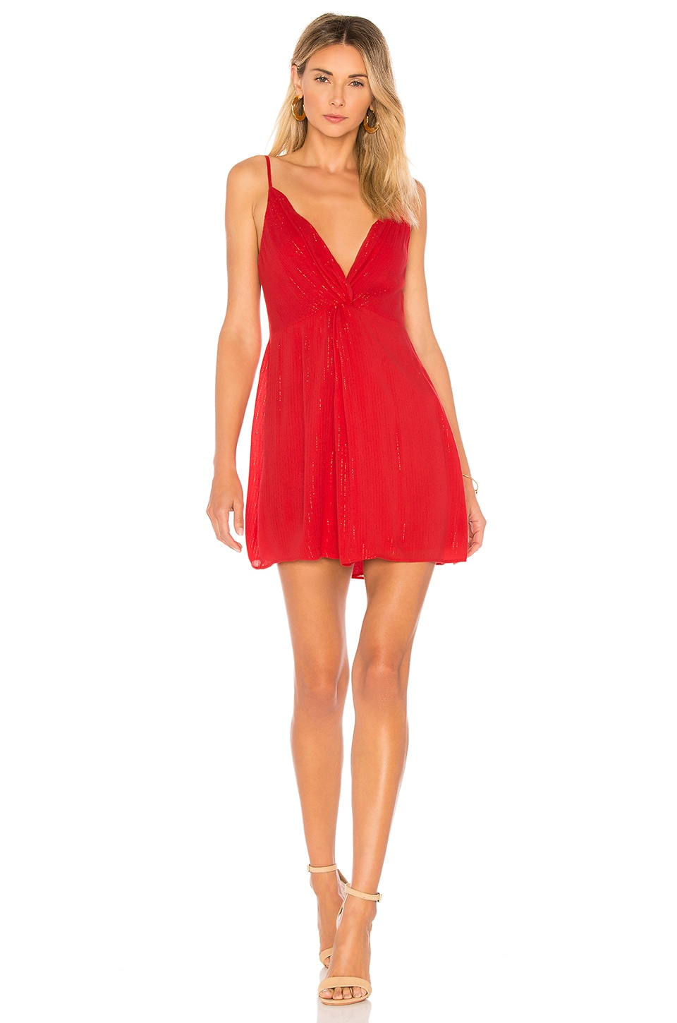 House of Harlow 1960 x REVOLVE Sharon Dress in Barbados Red