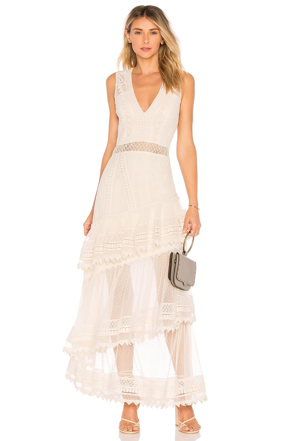 House of Harlow 1960 x REVOLVE Valence Dress en Natural