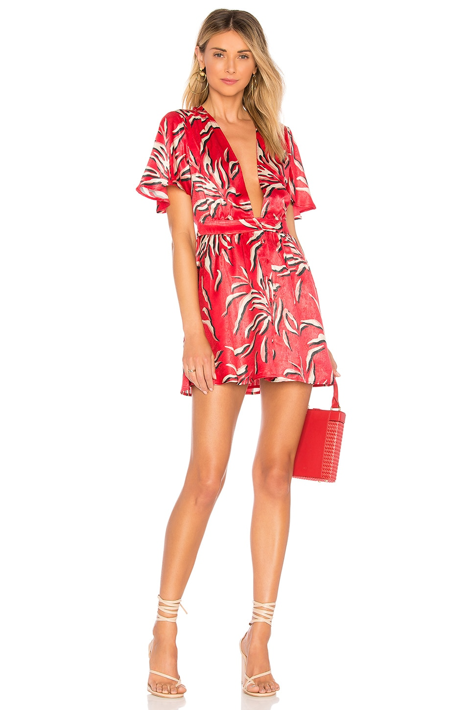 House of Harlow 1960 x REVOLVE Dawn Dress in Fond Print