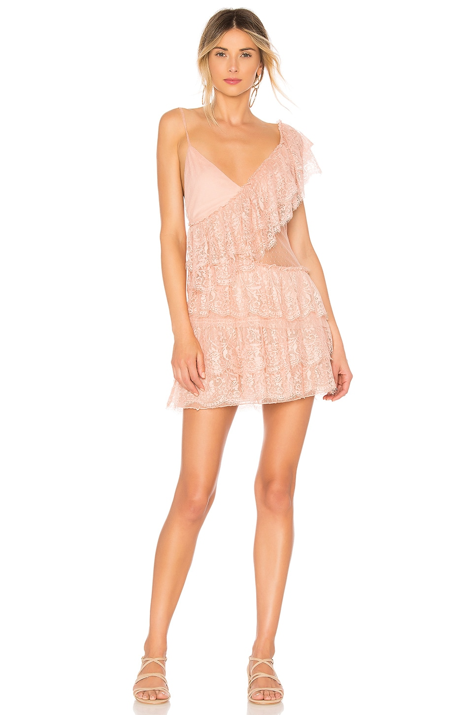 House of Harlow 1960 x REVOLVE Pauline Dress in Rose