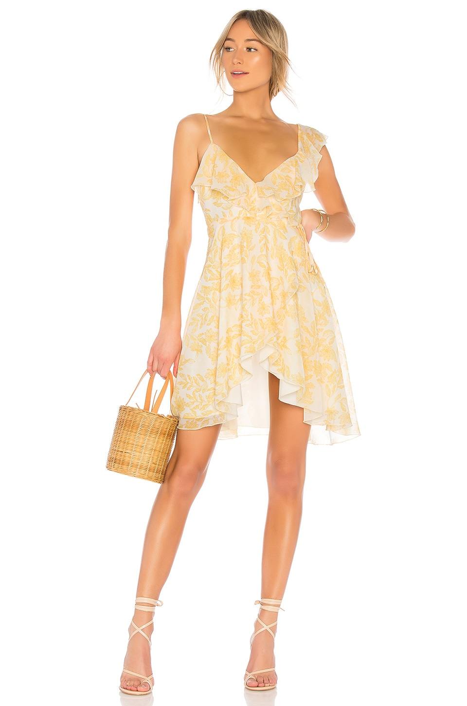 House of Harlow 1960 x REVOLVE Darma Dress in Saffron Floral