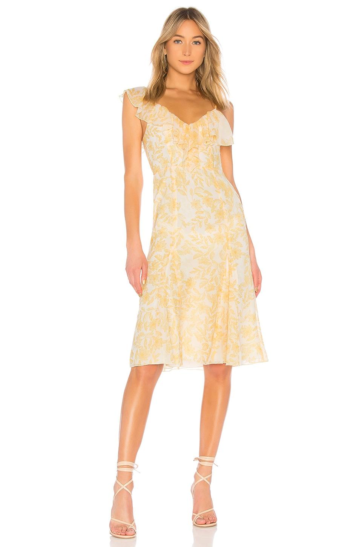 House of Harlow 1960 x REVOLVE Raina Dress in Saffron Floral