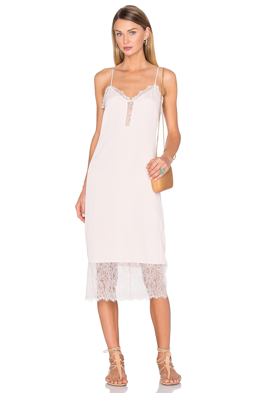 x REVOLVE Emma Lace Hem Slip Dress