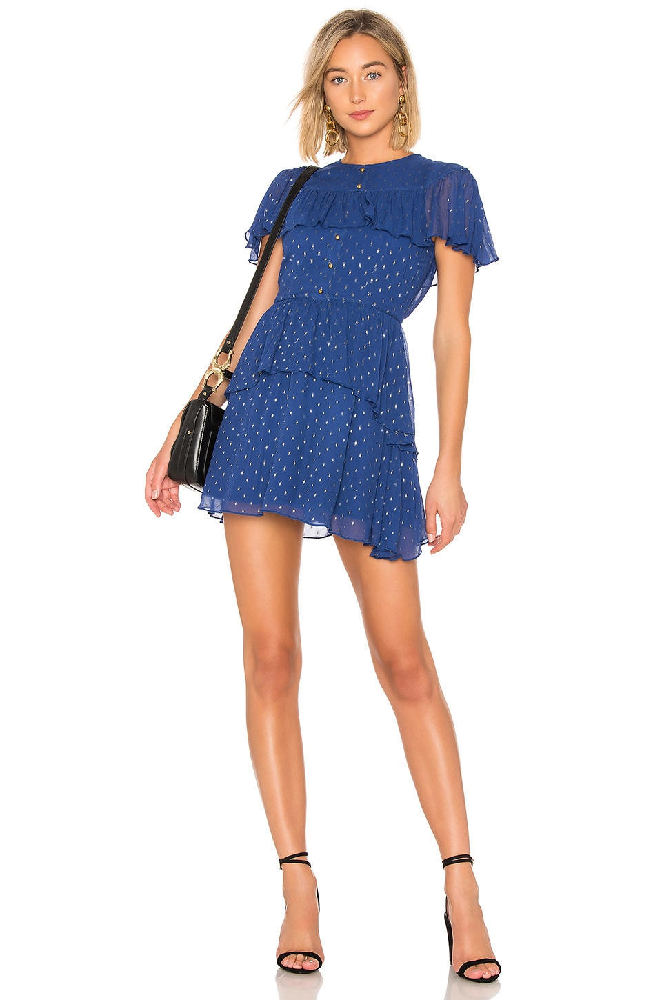 House of Harlow 1960 ROBE COURTE CLINT