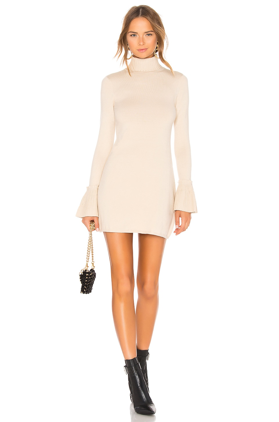 House of Harlow 1960 x REVOLVE Marni Dress in Nude