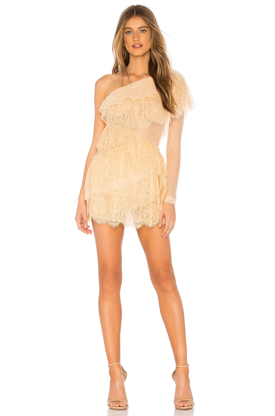 House of Harlow 1960 x REVOLVE Aries Dress in Nude