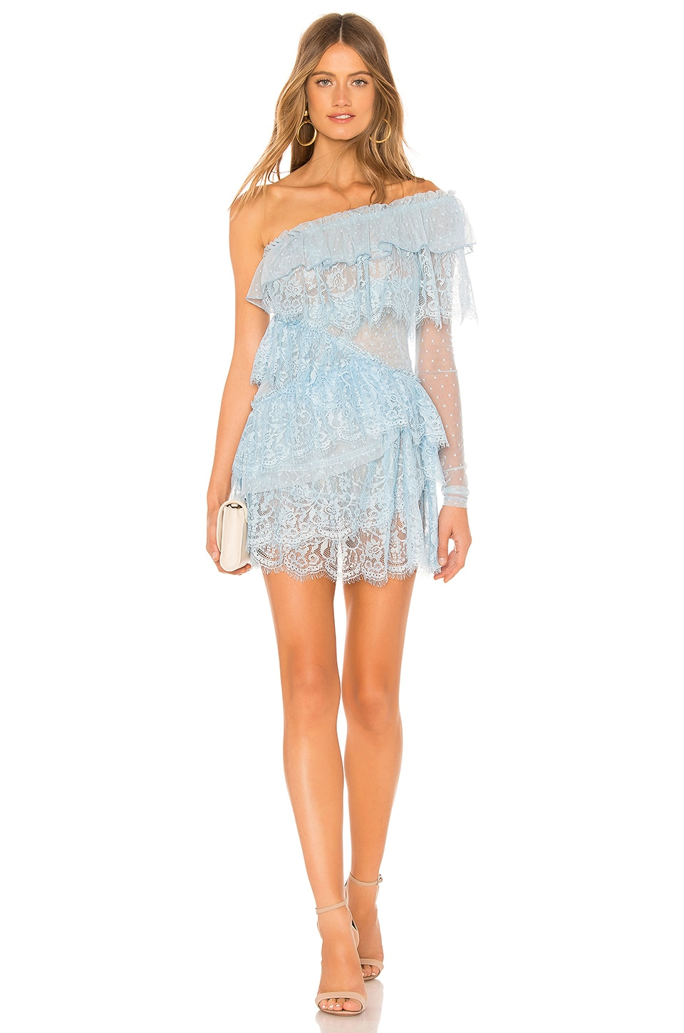 House of Harlow 1960 x REVOLVE Aries Dress in Baby Blue