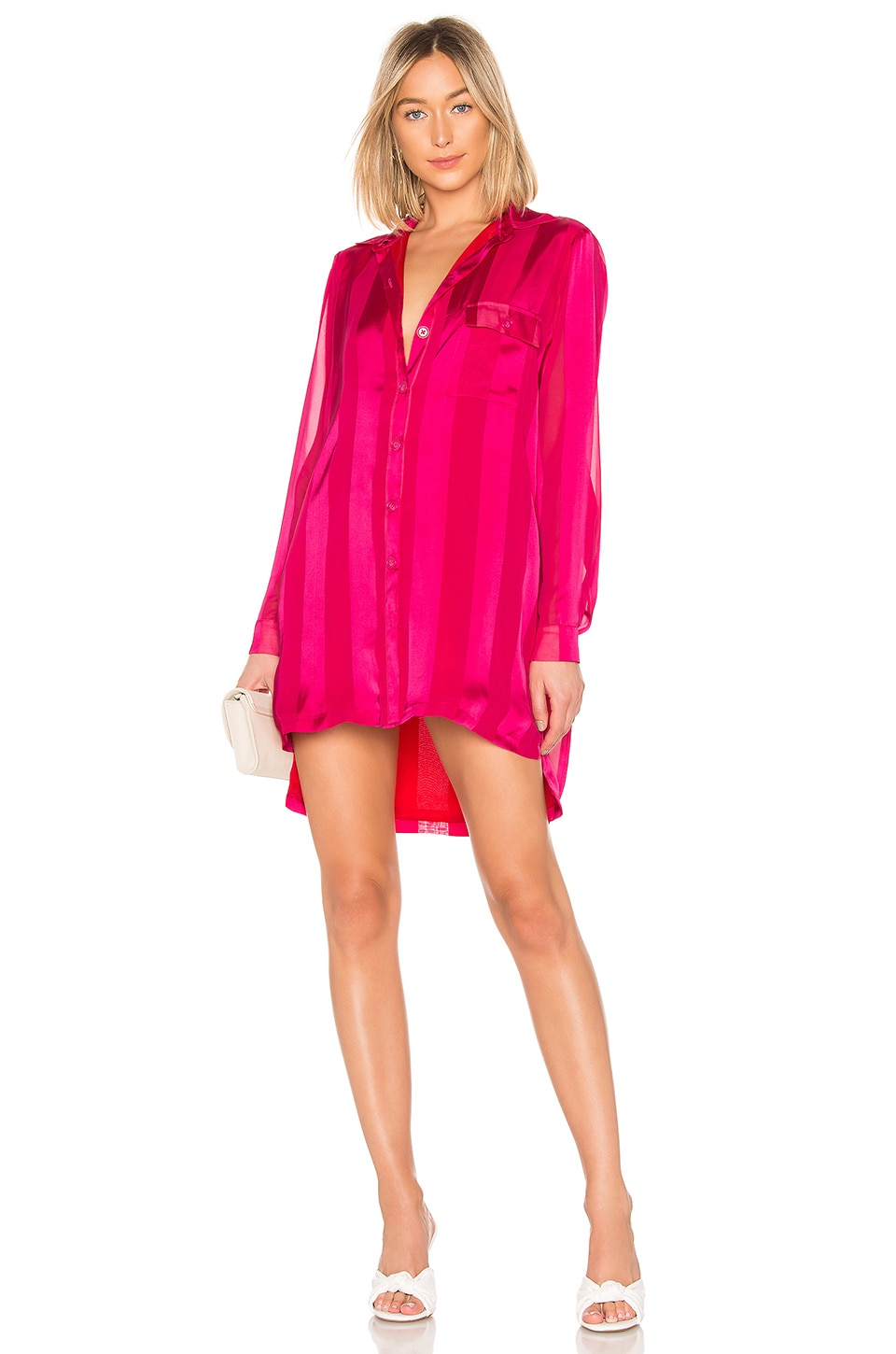 House of Harlow 1960 x REVOLVE Devina Dress in Fuchsia