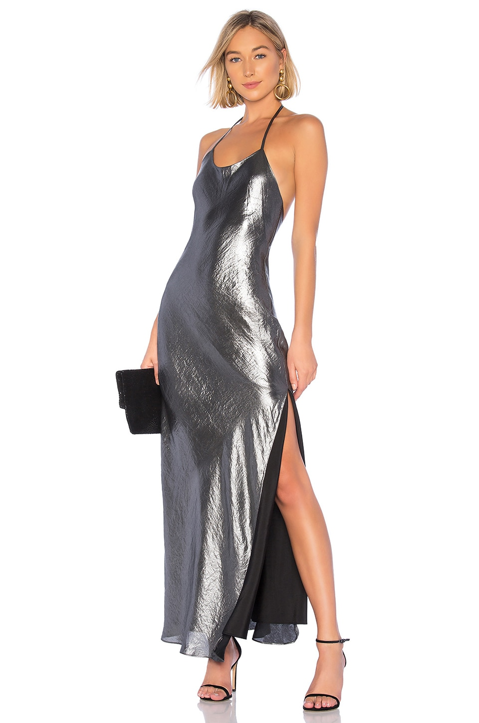 House of Harlow 1960 x REVOLVE Jasper Dress in Silver