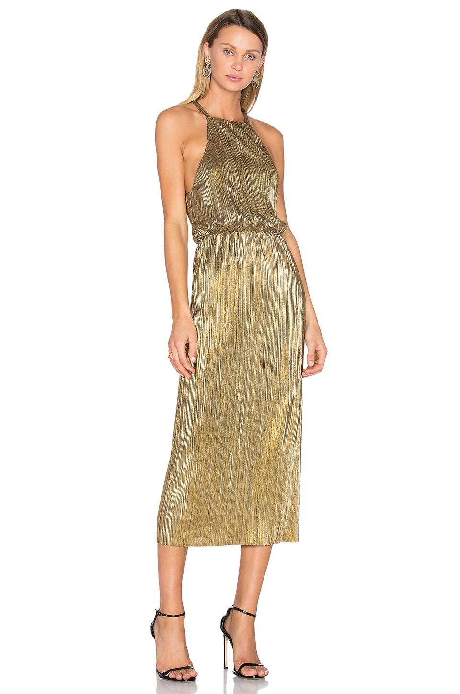 House of Harlow 1960 x REVOLVE Farrah Dress in Gold