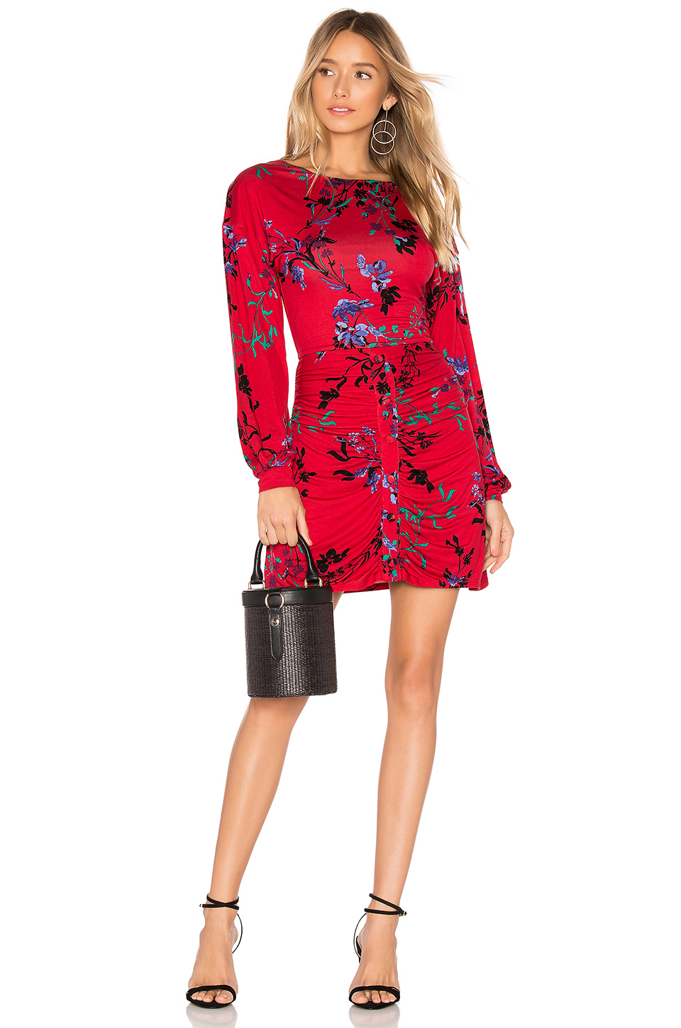 House of Harlow 1960 x REVOLVE Siri Dress in Red Fleur