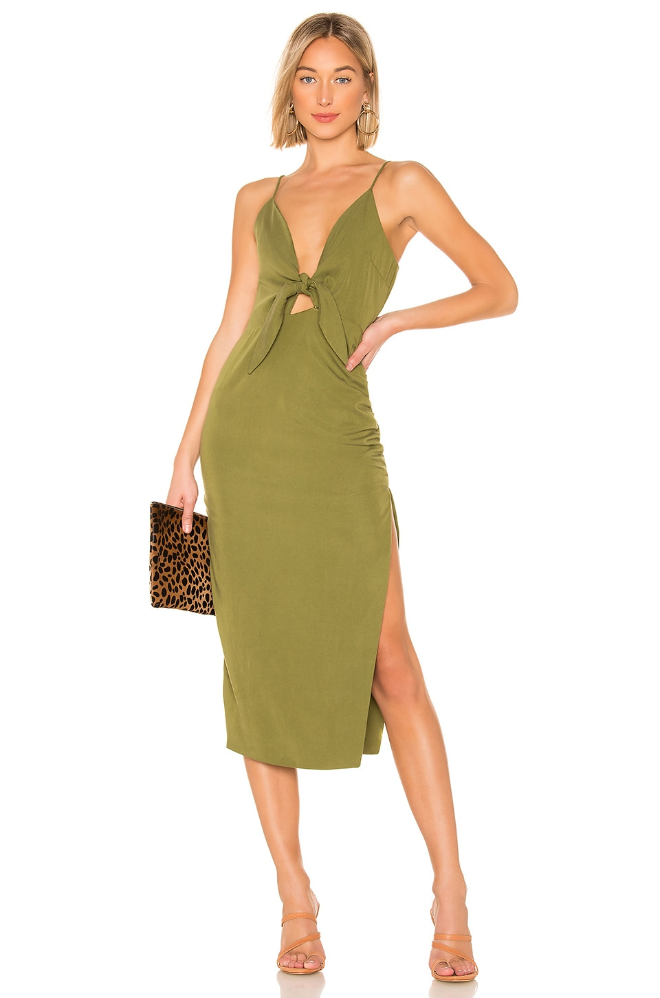 House of Harlow 1960 x REVOLVE Gail Dress in Olive