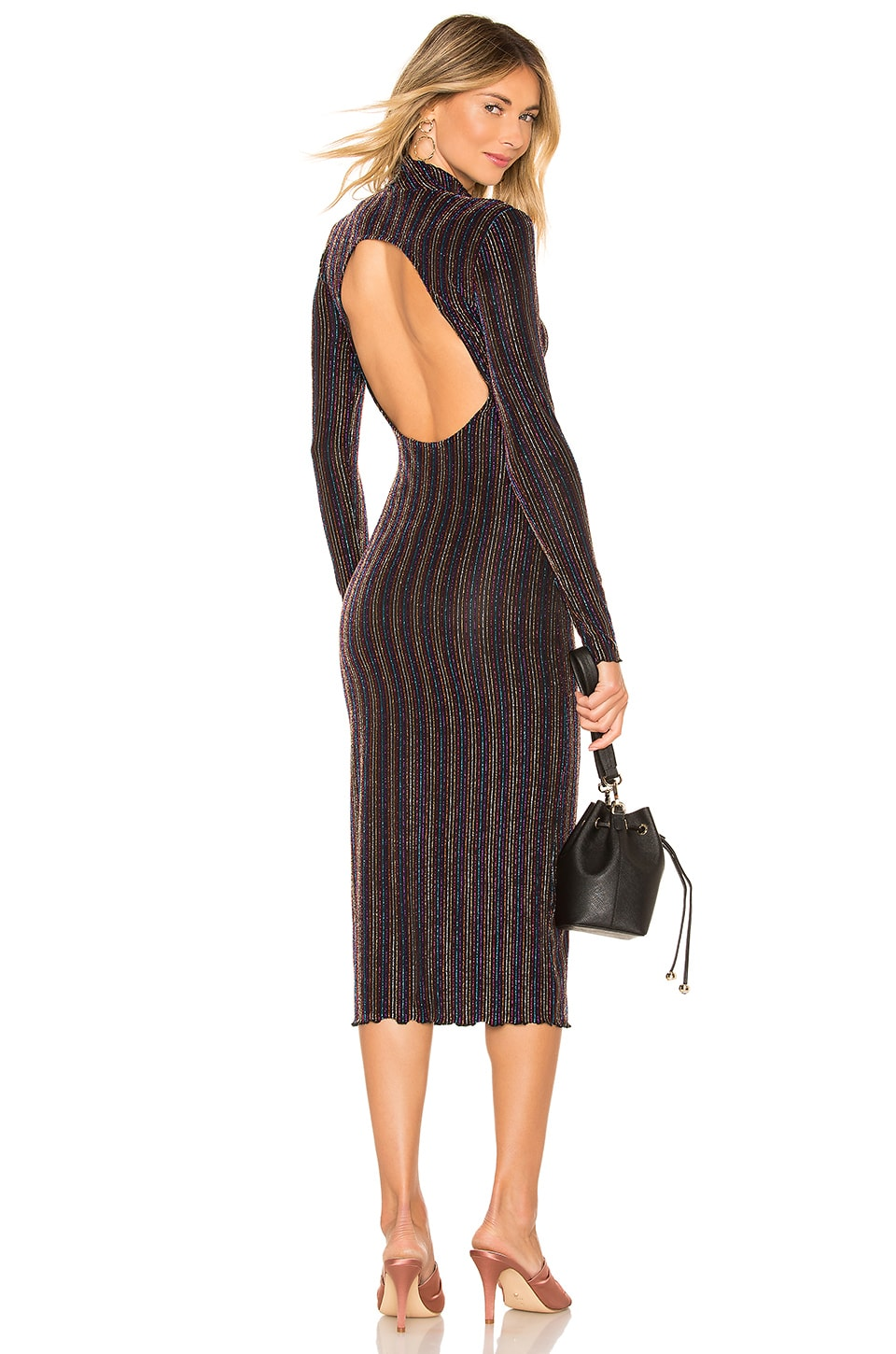 House of Harlow 1960 x REVOLVE Manuel Midi in Noir