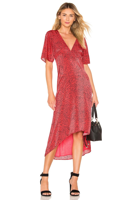 House of Harlow 1960 x REVOLVE Alonza Dress in Pink Swirl