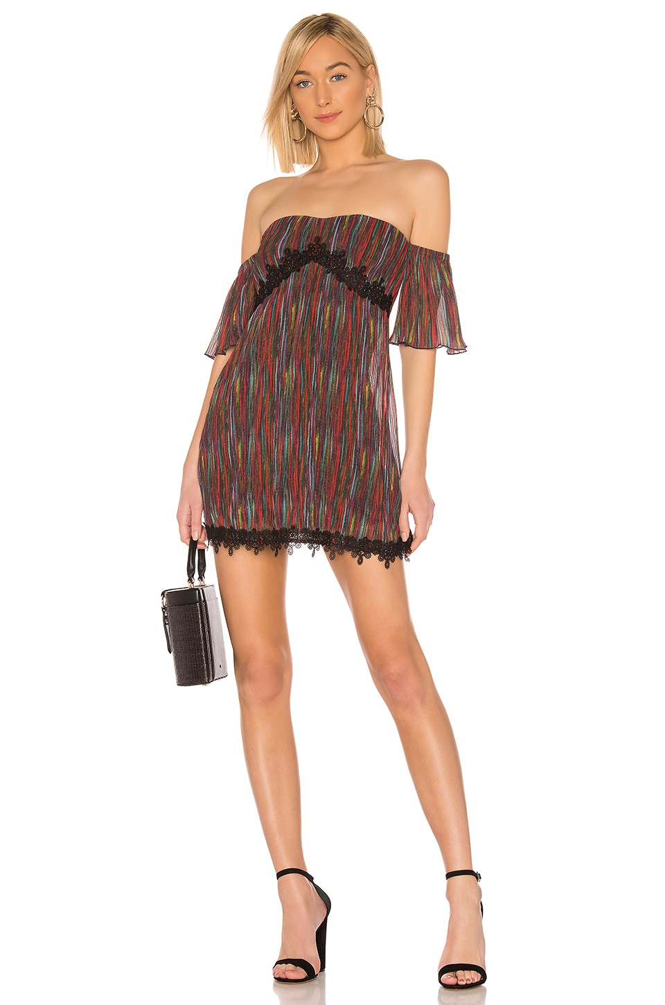 House of Harlow 1960 X REVOLVE Sofia Mini Dress in Multi