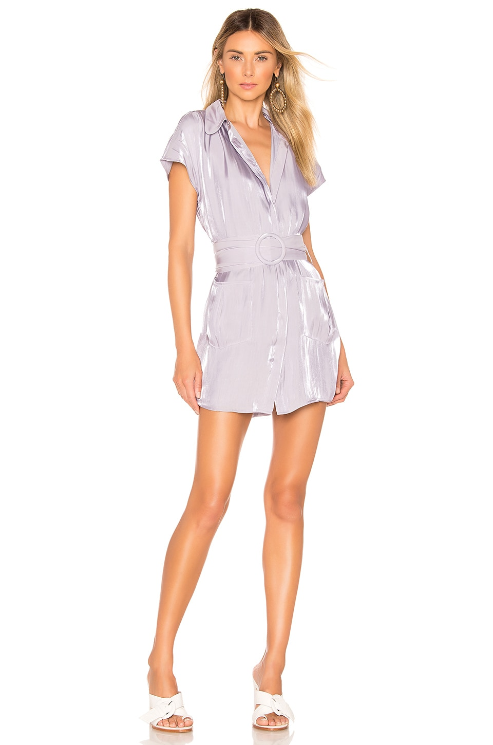House of Harlow 1960 x REVOLVE Noreen Dress in Lilac