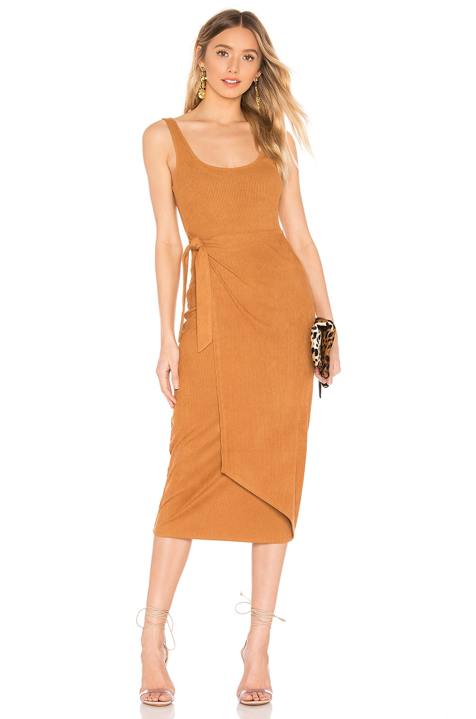 House of Harlow 1960 X REVOLVE Patricia Dress in Toffee