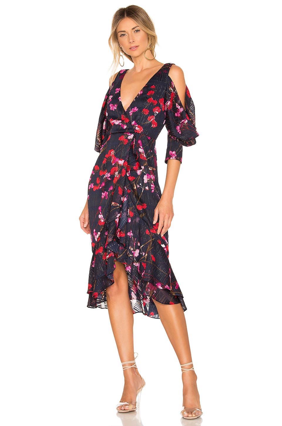 House of Harlow 1960 x REVOLVE Ginger Dress in Navy Floral