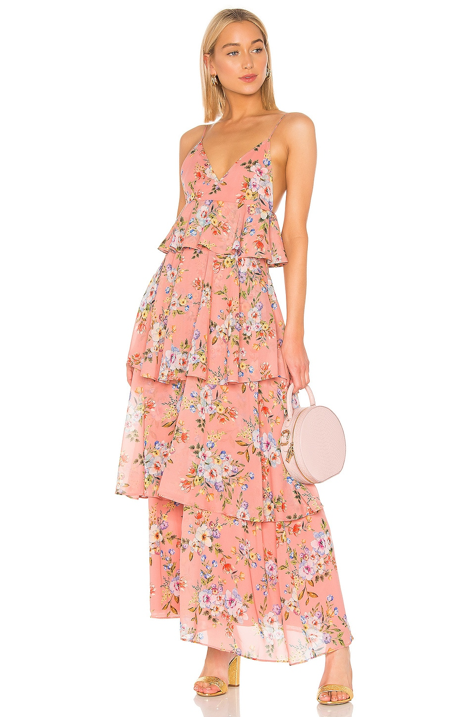 House of Harlow 1960 X REVOLVE Nel Dress in Rose Floral