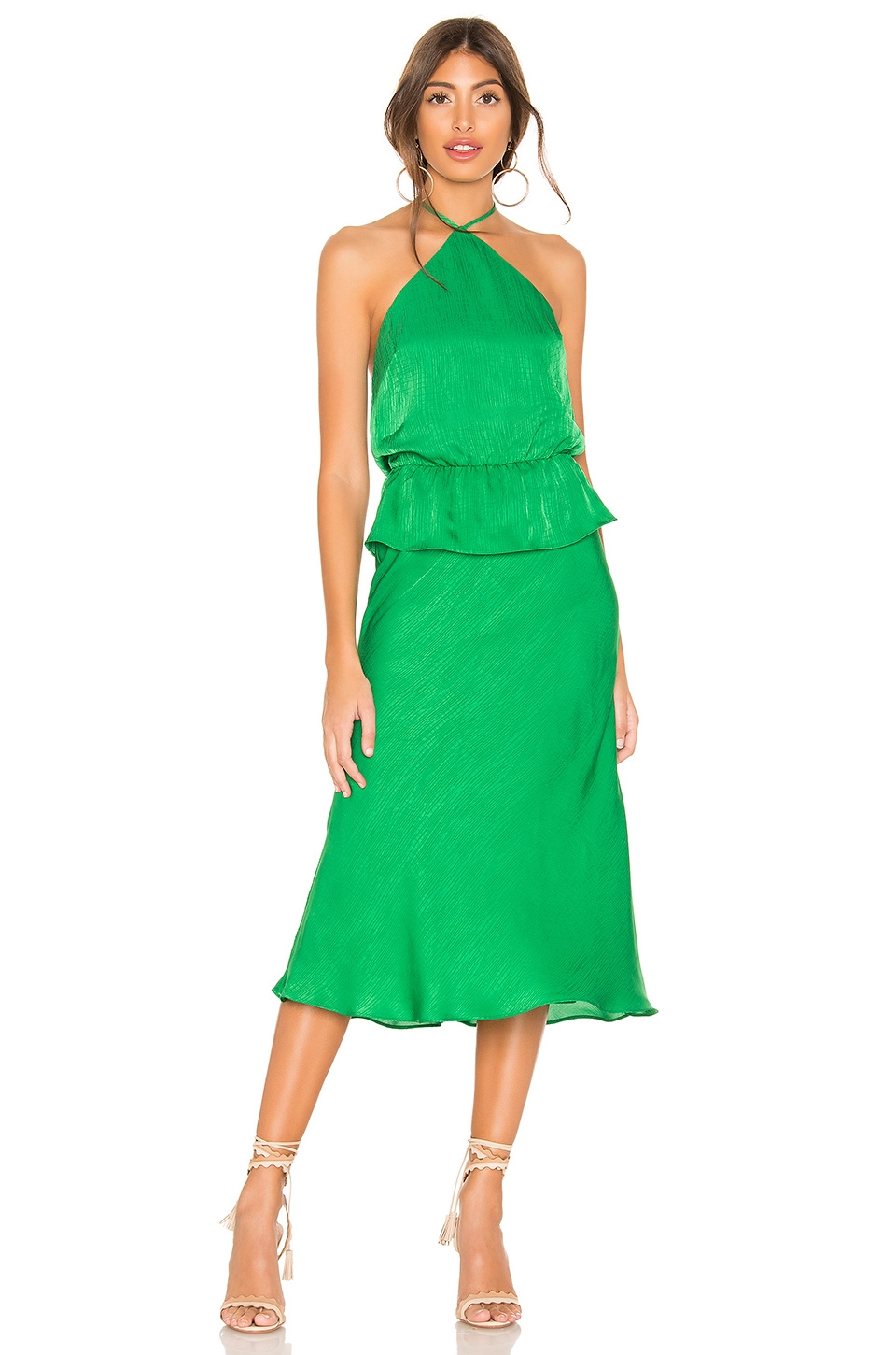 House of Harlow 1960 x REVOLVE Katrien Dress in Kelly Green