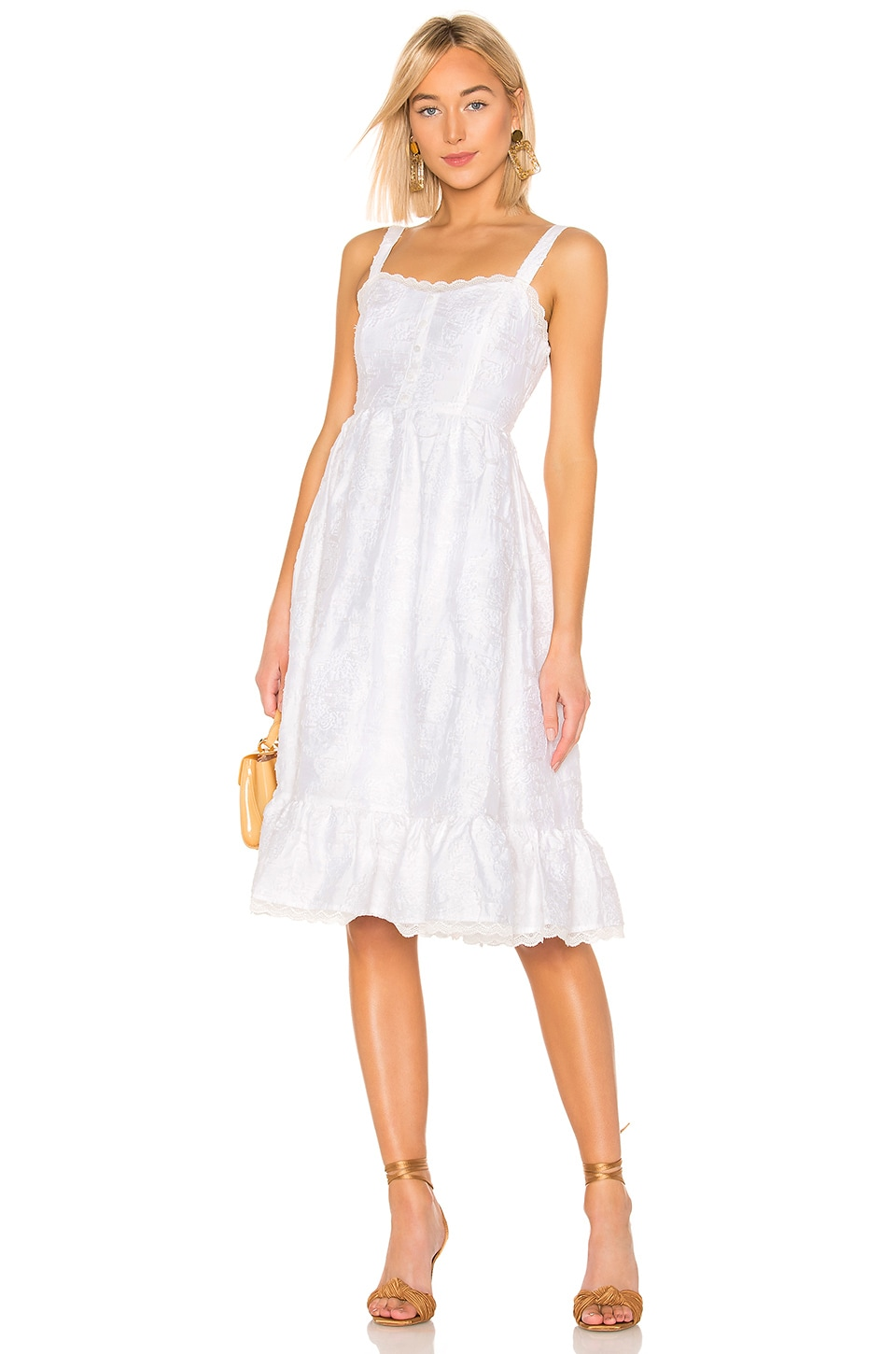 House of Harlow 1960 x REVOLVE Citra Dress in Ivory