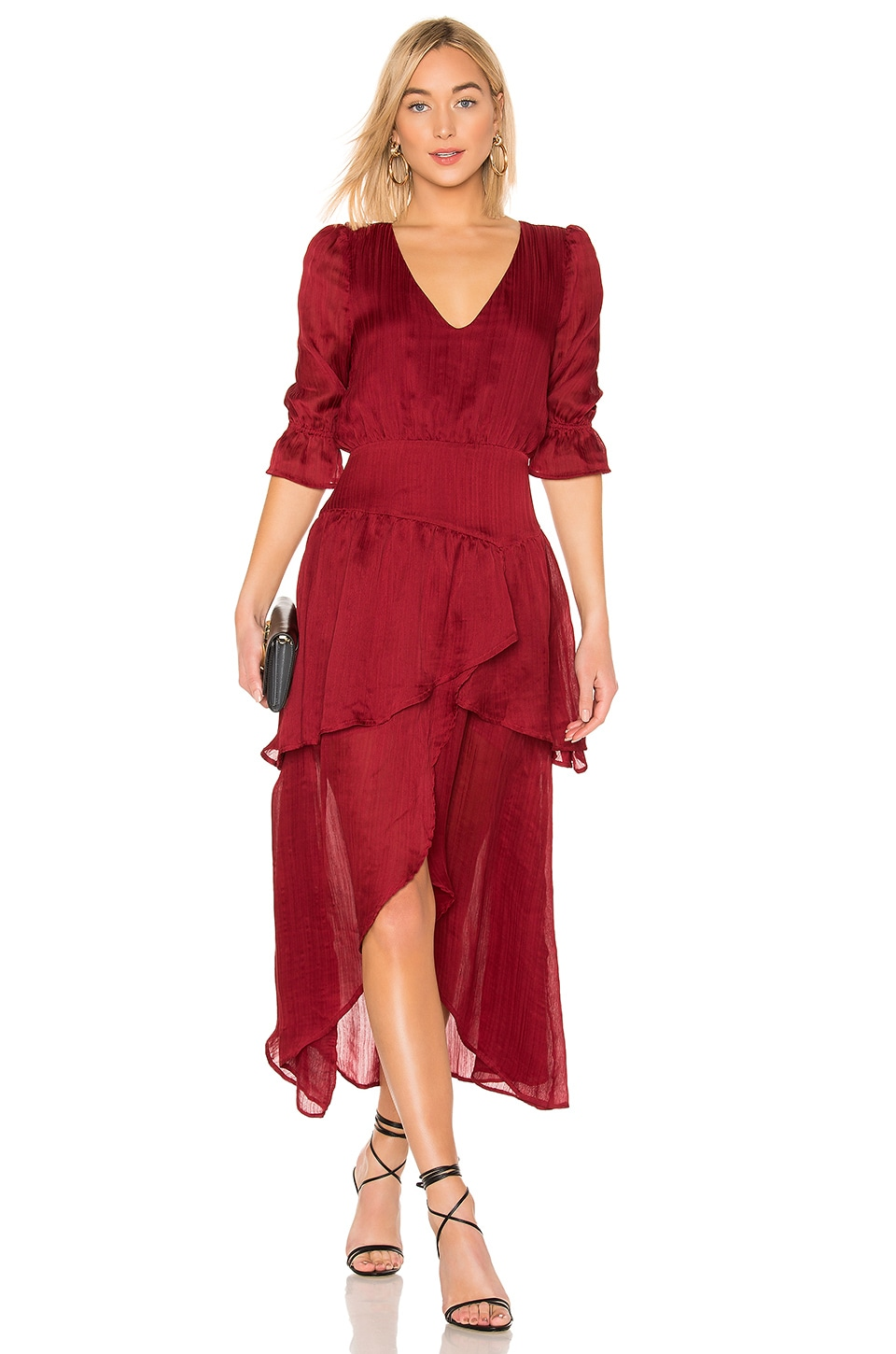 House of Harlow 1960 X REVOLVE Onel Dress in Crimson Red