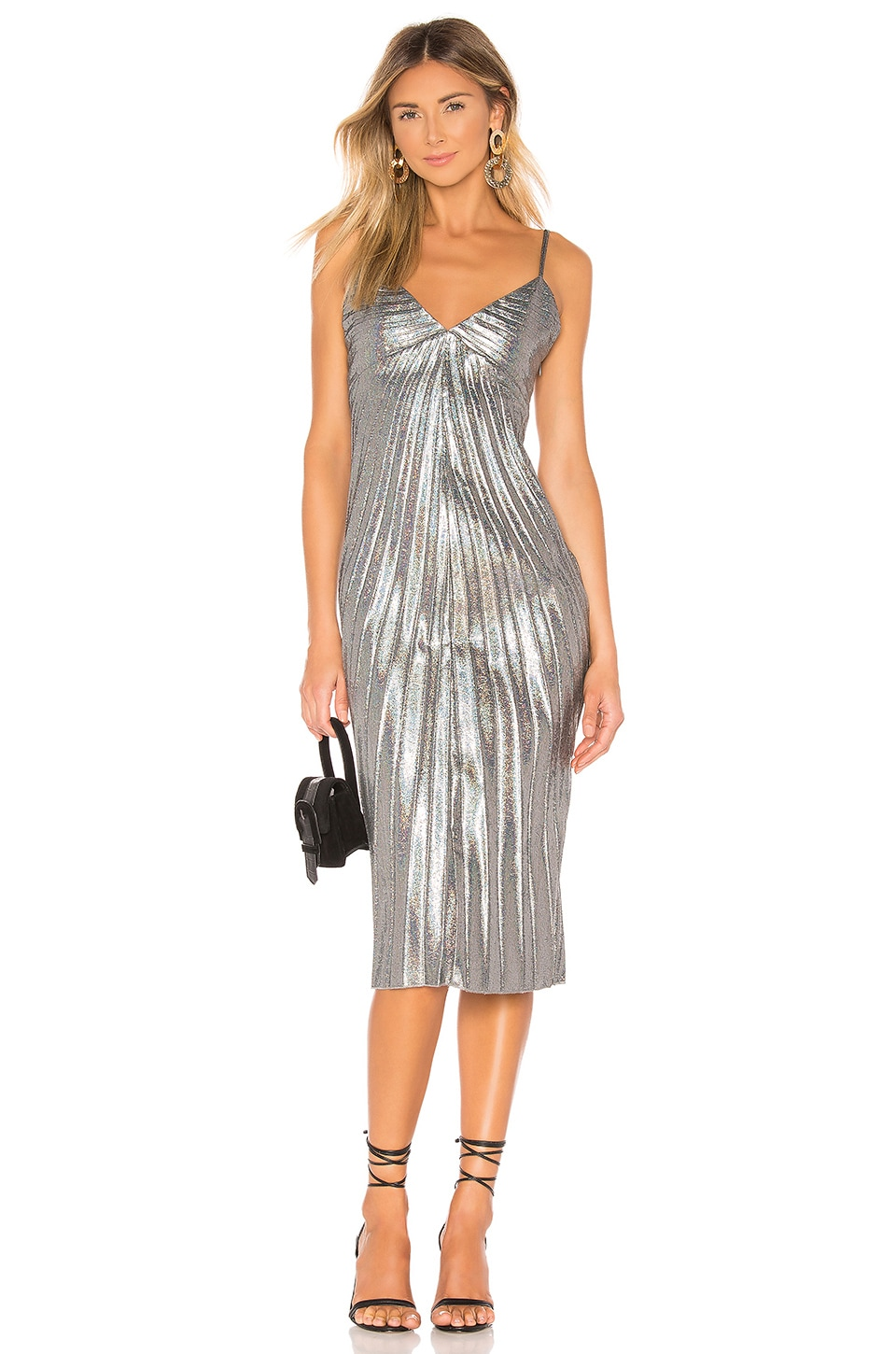 House of Harlow 1960 x REVOLVE Floriano Dress in Hologram Multi