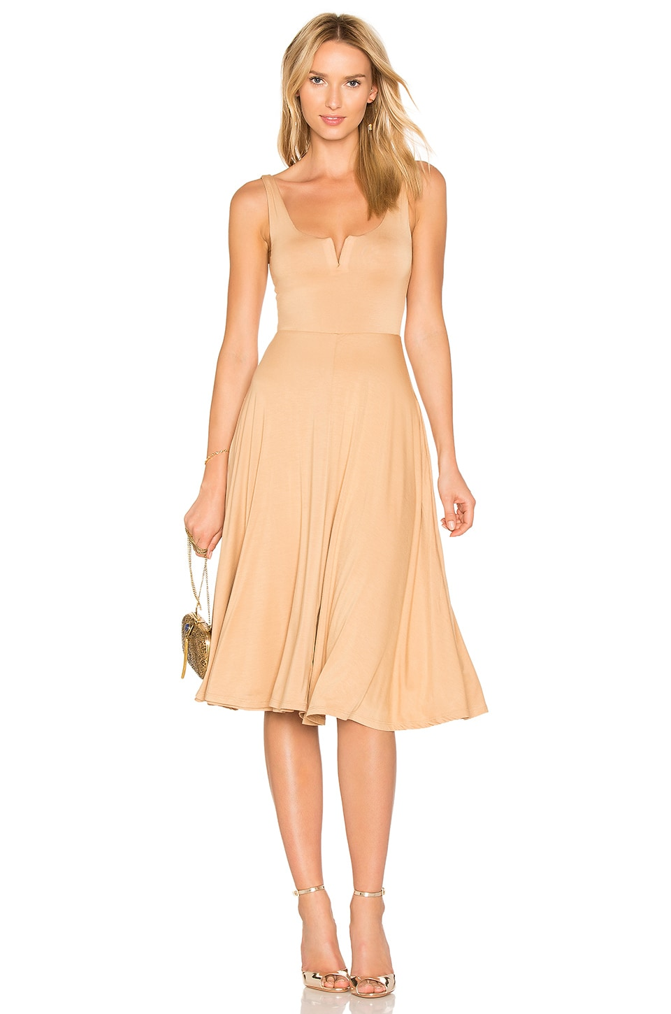 d0c43ff8c2a House of Harlow 1960 x REVOLVE Ella Dress in Almond