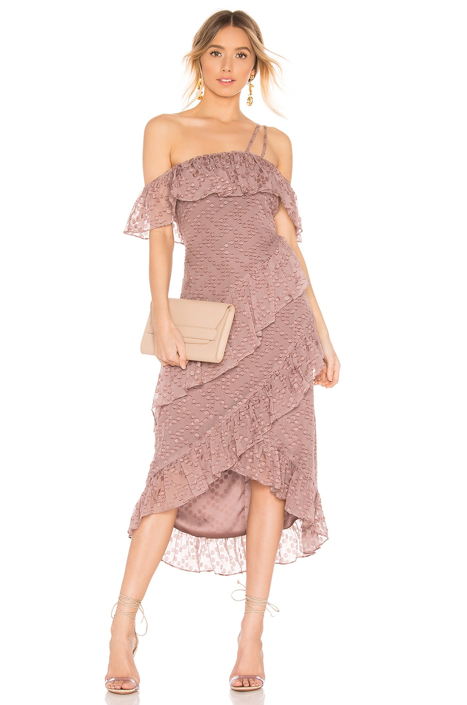 House of Harlow 1960 x REVOLVE Reno Dress in Mauve Purple