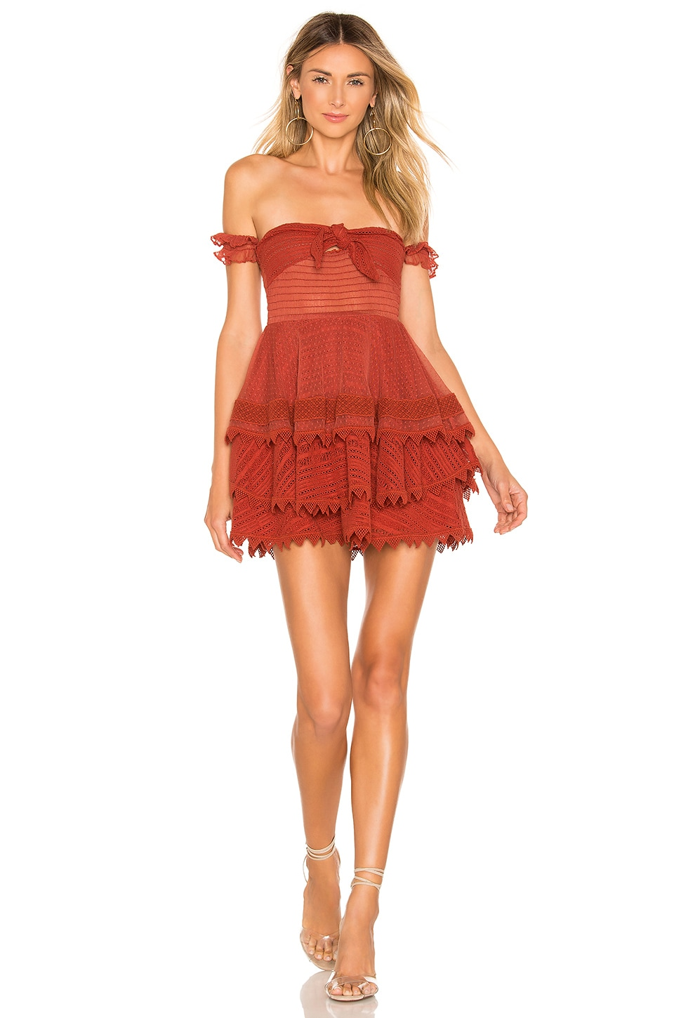 House of Harlow 1960 X REVOLVE Gaines Dress in Red