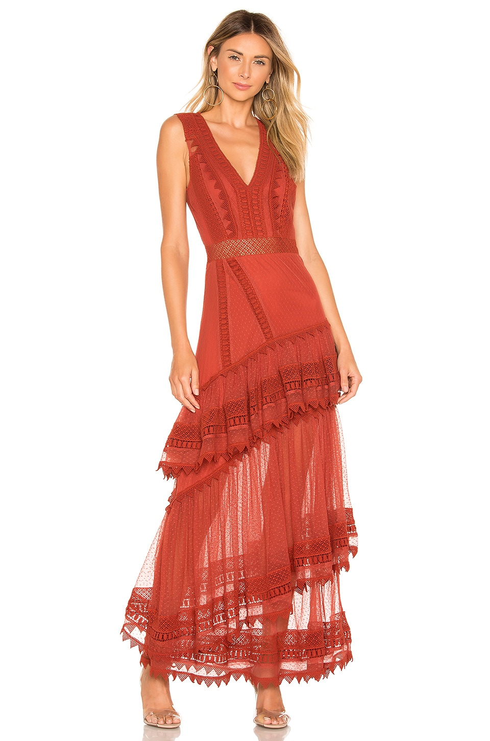House of Harlow 1960 X REVOLVE Valence Dress in Red