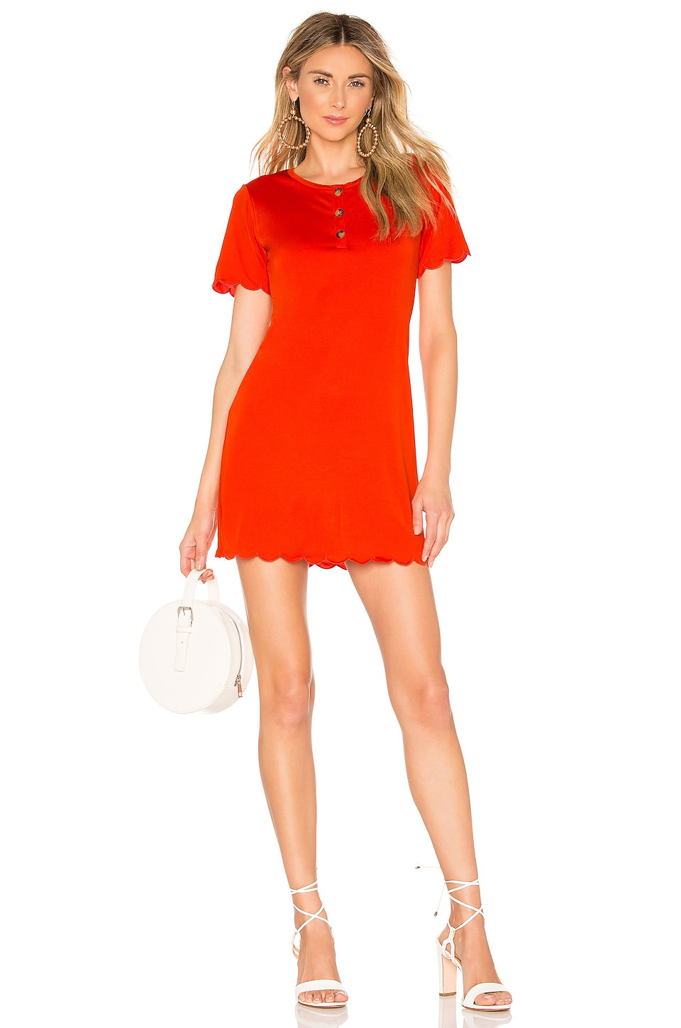 House of Harlow 1960 x REVOLVE Delphine Henley Dress in Red