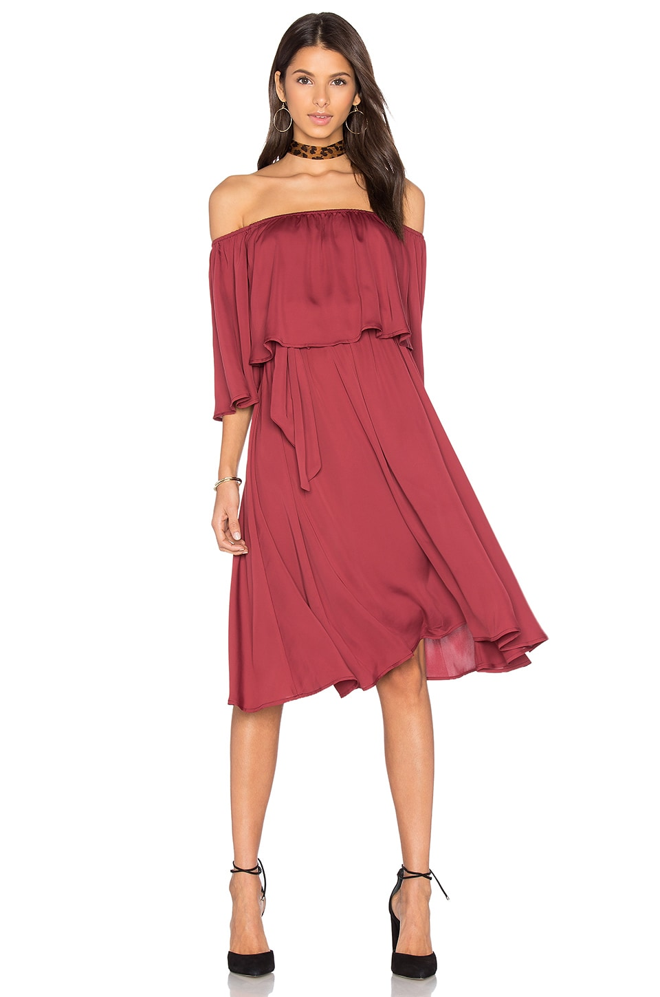 House of Harlow 1960 x REVOLVE Cindy Dress in Vino
